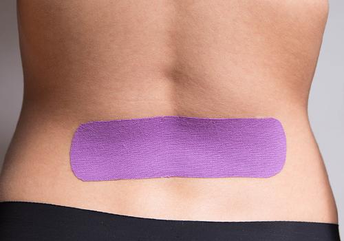 Rückenschmerzen tapen